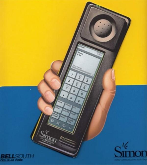 IBM patentiert weltweit erste faltbare Smartwatch erstes smartphone simon 1992