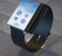 IBM patentiert weltweit erste faltbare Smartwatch