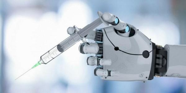 Künstliche Intelligenz hat zum ersten Mal einen Grippeimpfstoff entwickelt roboter vergibt vakzin