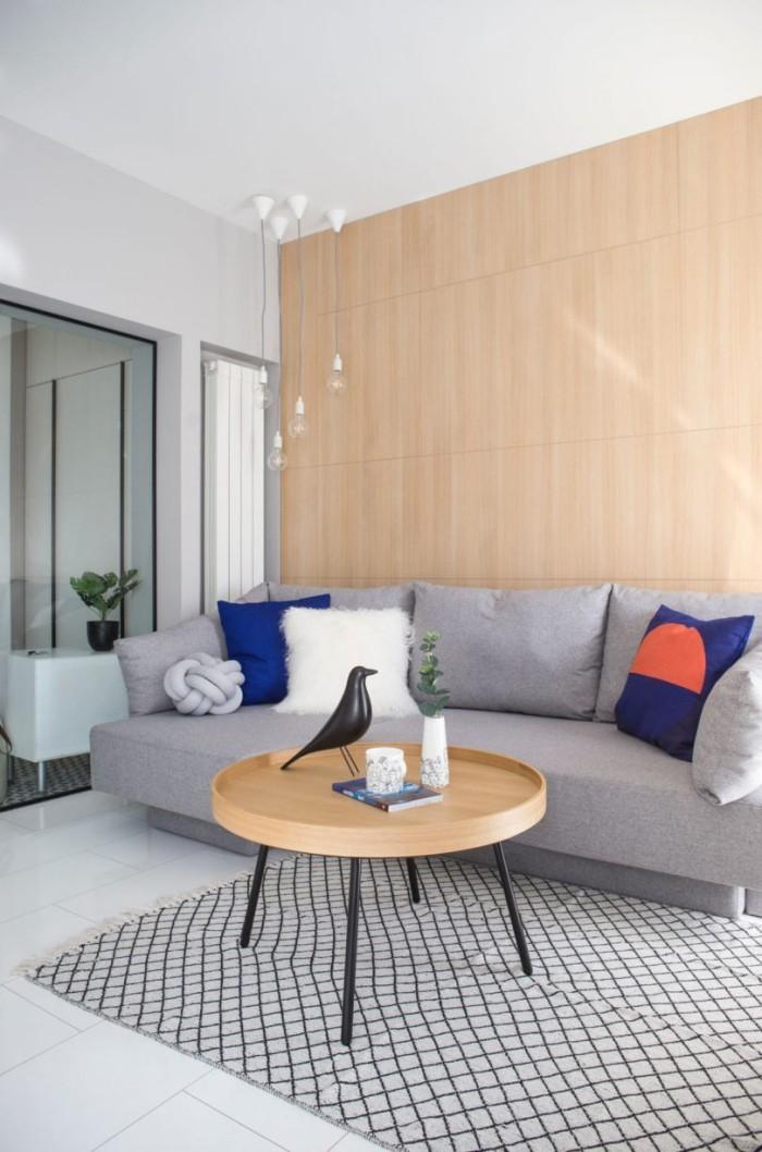 Kleines Apartment einrichten auf begrenzter Wohnfläche gut wohnen perfekte Einrichtung haben