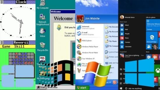 Nach fast 34 Jahren führt Microsoft Windows 1.0 angeblich wieder ein evolution des operationssystem windows