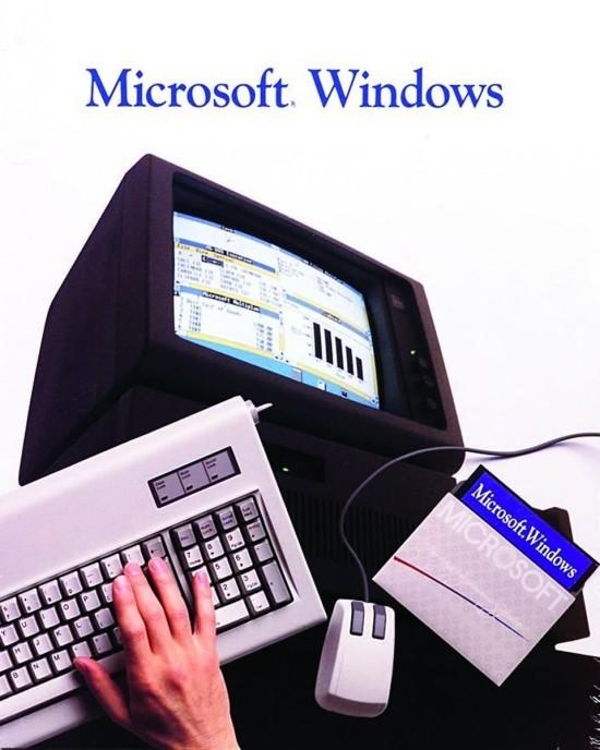Nach fast 34 Jahren führt Microsoft Windows 1.0 angeblich wieder ein microsoft windows altes computer und maus