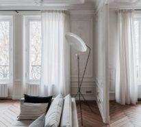 Pariser Chic im Wohnzimmer vereint lässige Eleganz und französische Raffinesse