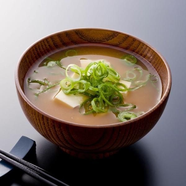 Probiotische Lebensmittel japanische Miso Suppe