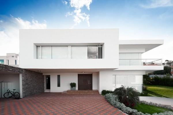 Südländische Ausstrahlung - moderne Häuser