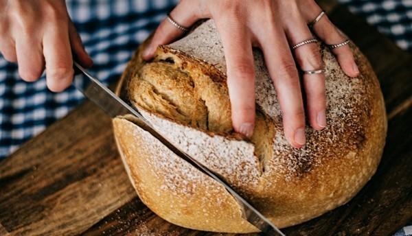 Sauerteigbrot hausgemachtes Brot mit Sauerteig