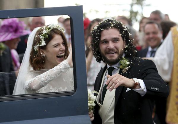 Schauspieler aus Game of Thrones - Hochzeit