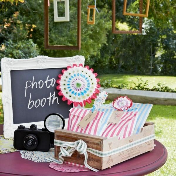 Sommerparty Deko Ideen Gartenparty Fotos machen
