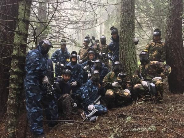 Teambuilding Ideen - alle im Wald