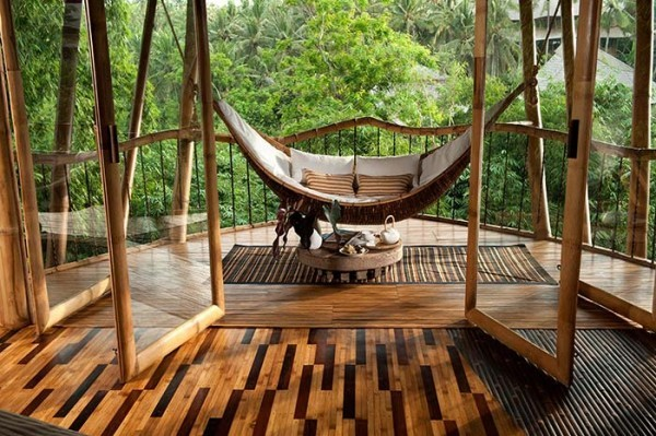 Traumhaus - Veranda aus edlem Holz