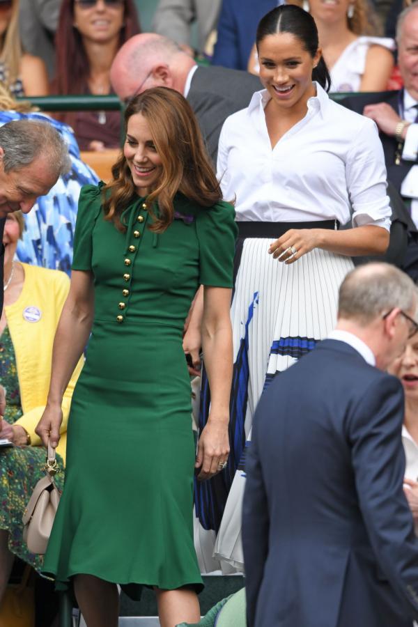 Wimbledon 2019 Kate Middleton Meghan Markle nettes Verhältnis zueinander