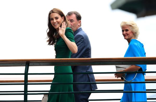 Wimbledon 2019 Kate Middleton besucht das Tennisturnier wie jedes Jahr ist guter Laune