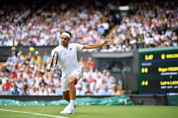Wimbledon 2019 Roger Federer intelligentester Tennisspieler begeistert das Publikum