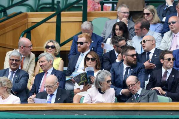 Wimbledon 2019 Royal Box Star und Sternchen besuchen das älteste Tennisturnier