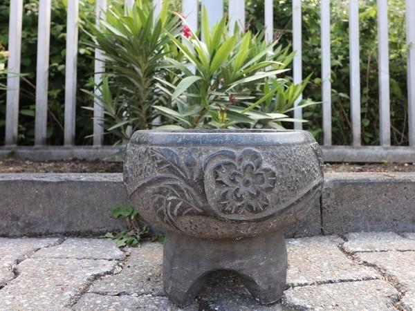 beton deko kleine vase