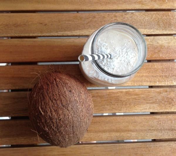 durstlöscher mit kokos zubereiten