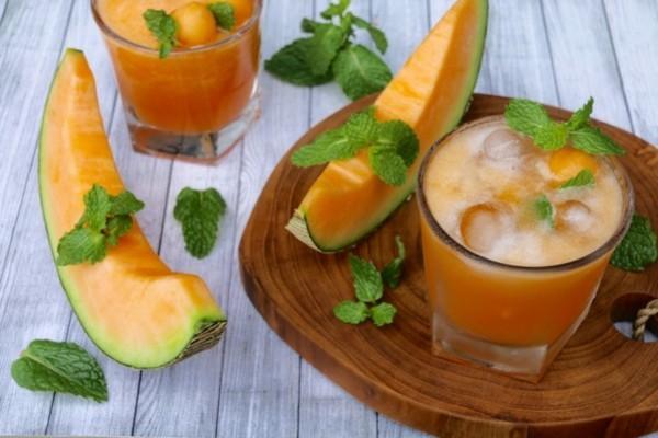 durstlöscher mit melone zubereiten