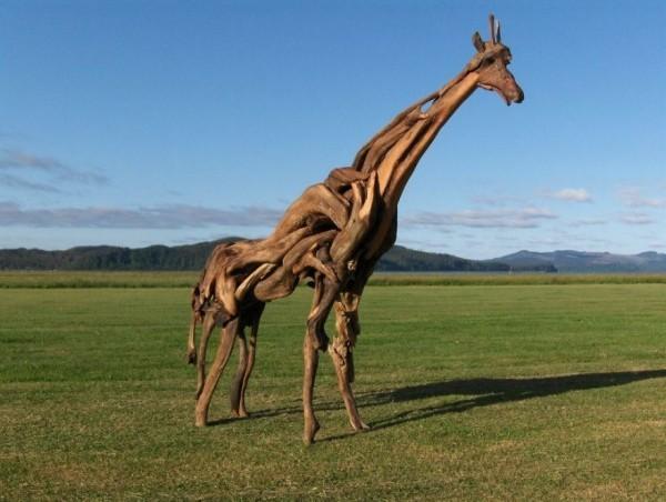 eine giraffe - modern art umwelt
