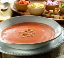 Das originale Gazpacho Rezept: Eine erfrischende, kalte Tomatensuppe gefällig?