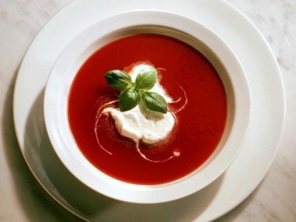 gazpacho rezept mit basilikum und rahm