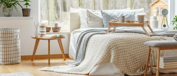 gesundes wohnen schlafzimmer ton in ton einrichten