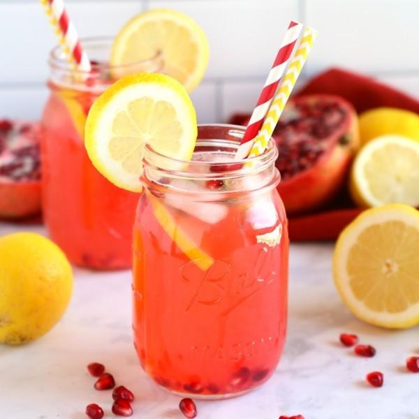 granatapfel zitrone durstlöscher rezept