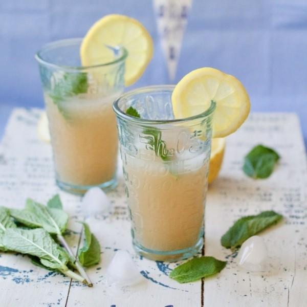 ingwer minze limonade als durstlöscher