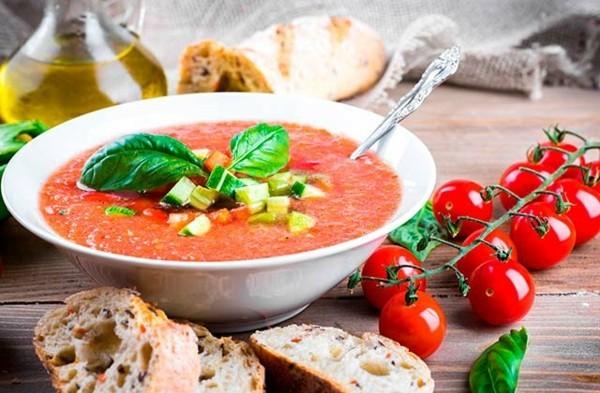 kalte tomatensuppe gazpacho rezept