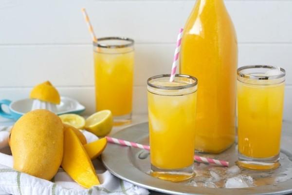 mango limonade durstlöscher zubereiten
