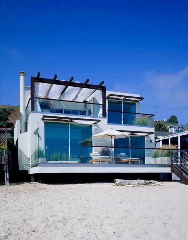 moderne Häuser - Strandhaus Idee