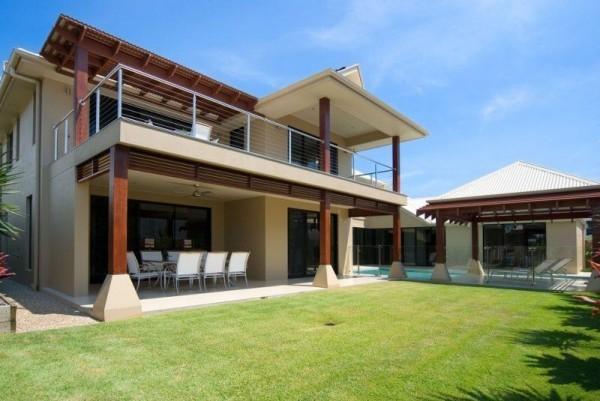 moderne Häuser wunderbare Häuser mit einem Innenhof