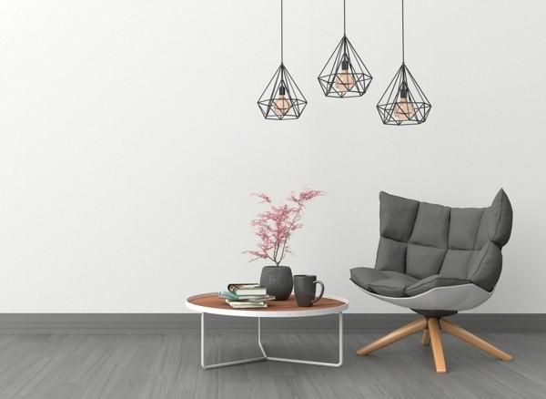 puristisch wohnen designer möbel handmade optik accessoires
