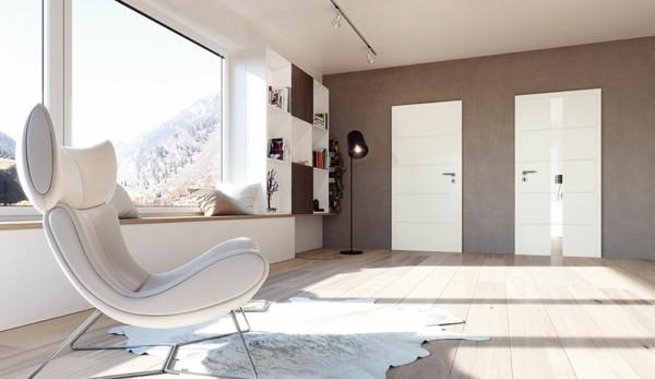 puristisch wohnen elegante wohnzimmereinrichtung