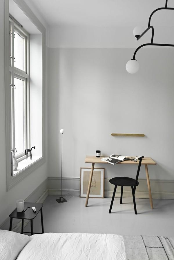puristisch wohnen im skandinavischen stil