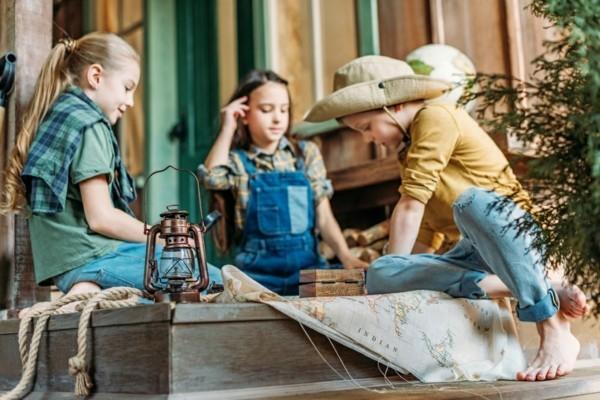 schatzsuche kindergeburtstag schnitzeljagd ideen