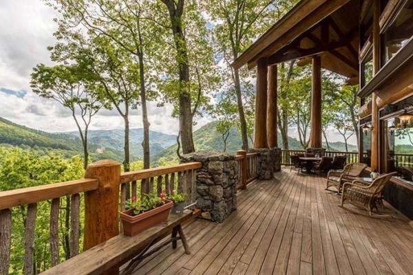 tolle Veranda - ein schönes Traumhaus