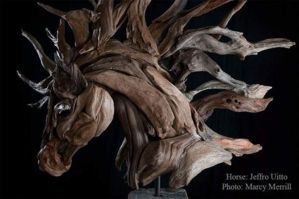 toller pferderkopf idee umwelt