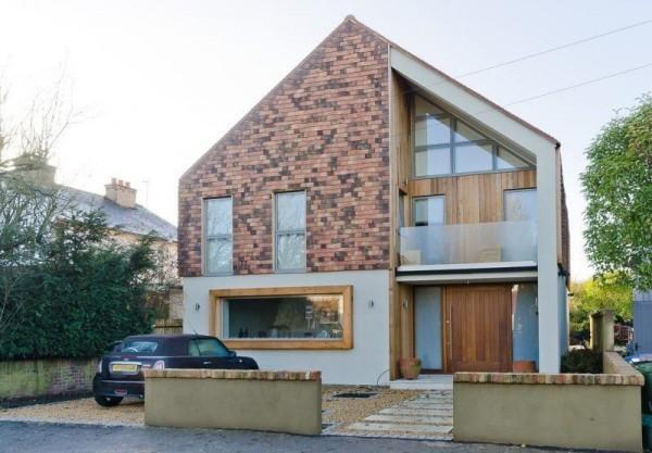 tolles Giebelhaus - moderne Häuser