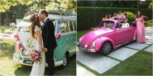 tolles Hochzeitspaar Autoschmuck Hochzeit - toll