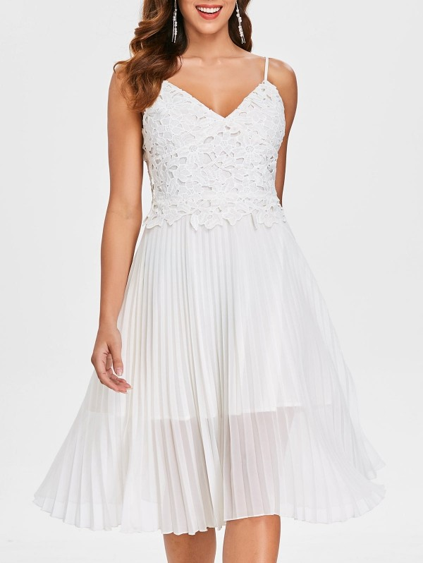 tolles Kleid in Weiß Damenkleider