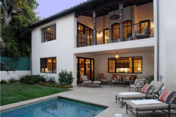 traditionelle Architektur-Elemente moderne Häuser