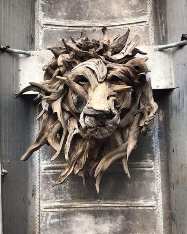 umwelt darstellung vom löwenkopf