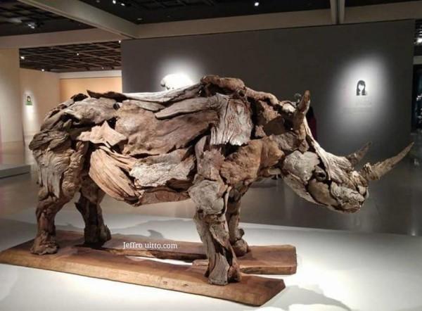 umwelt - großer horm im museum