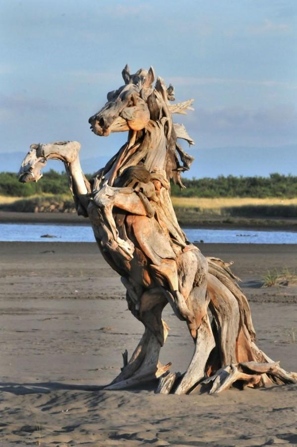 umwelt reiteder pferd idee