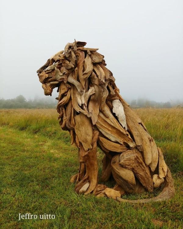 umwelt toller löwe