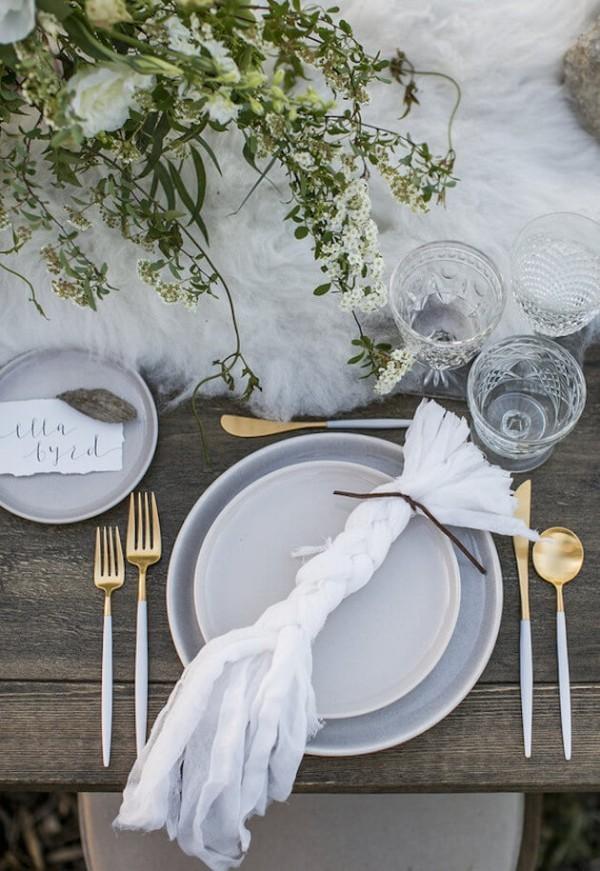 wunderbare Servuetten zum Falten - Hochzeitsdeko