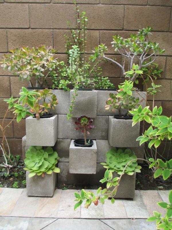 wunderbare wandgestaltung beton deko