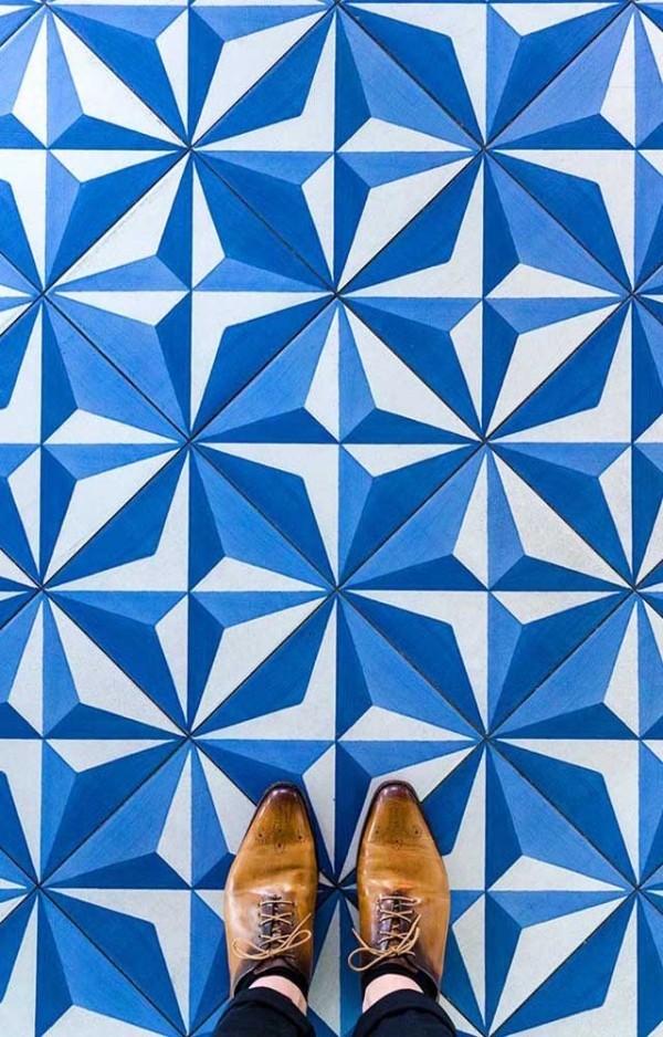 wunderbares blaues Design Design-Inspiration