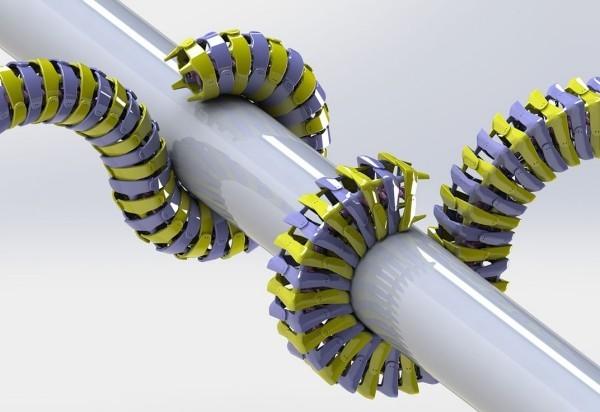 Arque ist ein Roboterschwanz, der Ihr Gleichgewicht und Beweglichkeit verbessert wird dinge greifen können