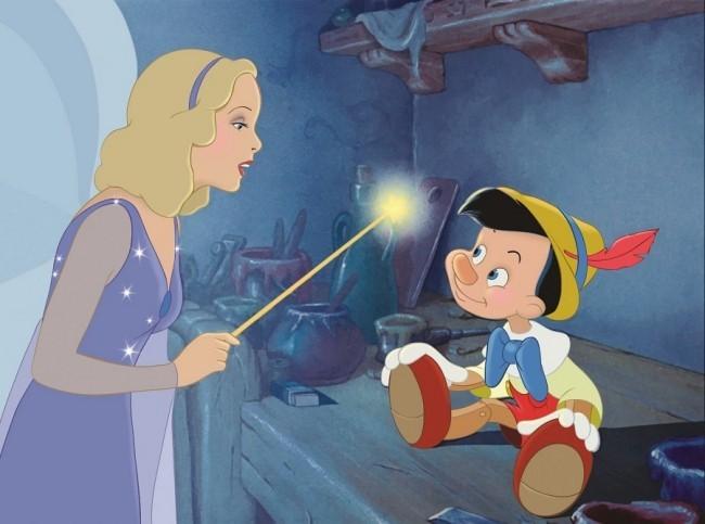 Dies sind alle kommenden Remakes von Disney Pinocchio und die fee